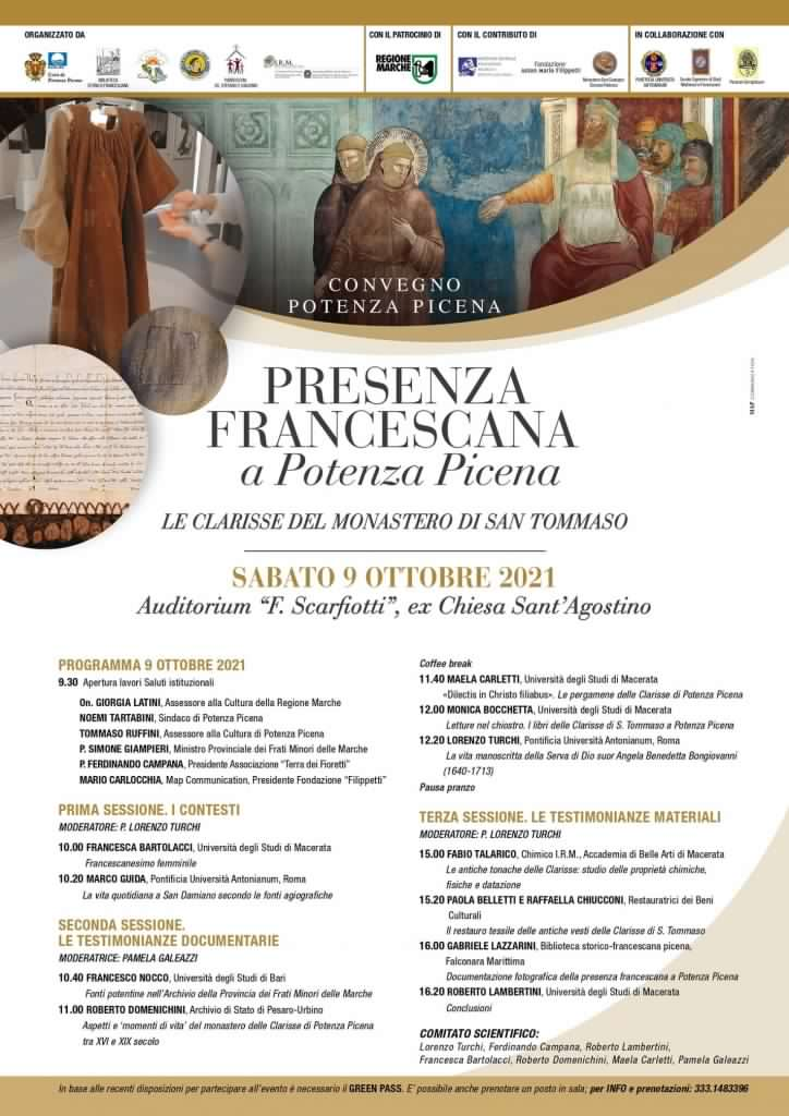 Presenza Francescana a Potenza Picena
