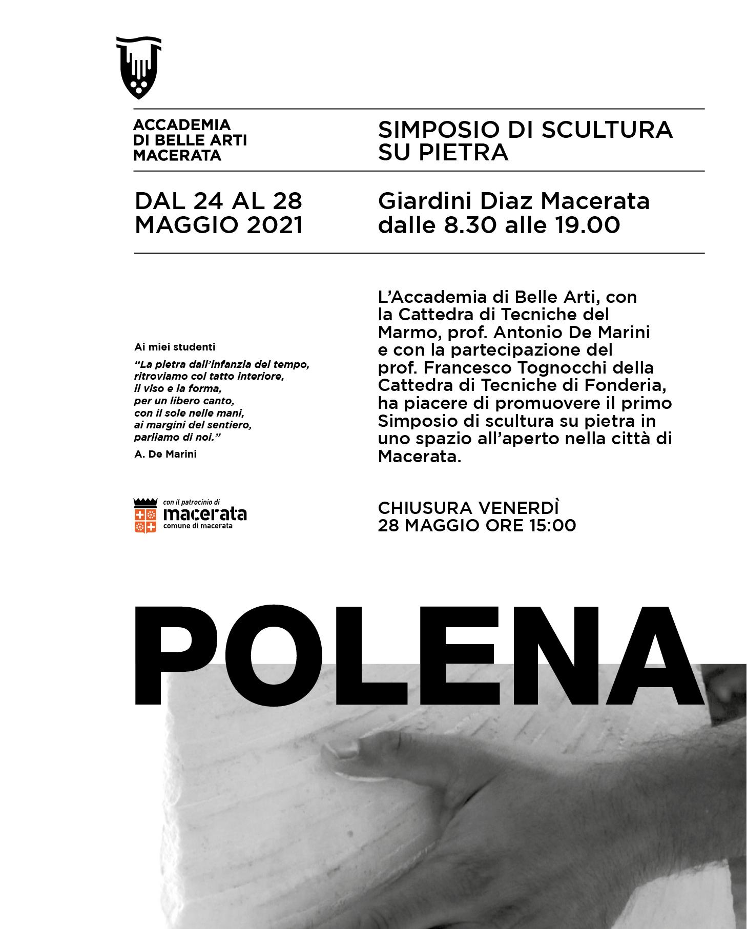 """SIMPOSIO DI SCULTURA SU PIETRA  """"POLENA"""""""
