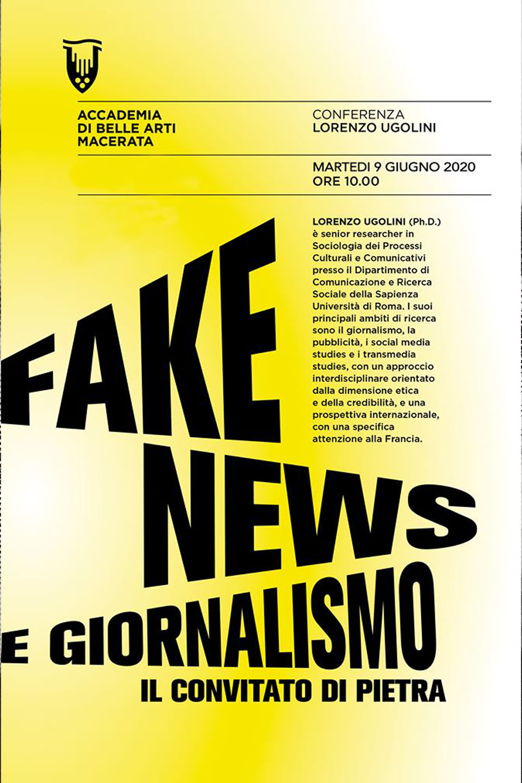 FAKE NEWS e GIORNALISMO - IL CONVITATO di PIETRA