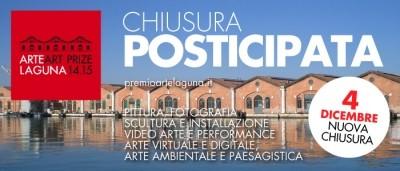 PREMIO ARTE LAGUNA: chiusura iscrizioni posticipata al 04.12.2014