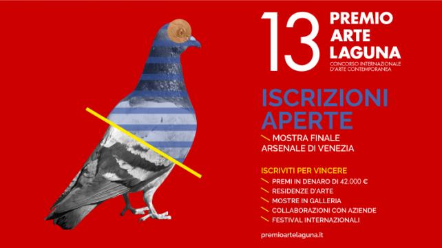 ISCRIZIONI APERTE - 13^ Edizione PREMIO ARTE LAGUNA
